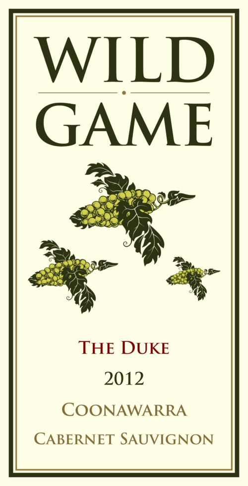 wild game duck label